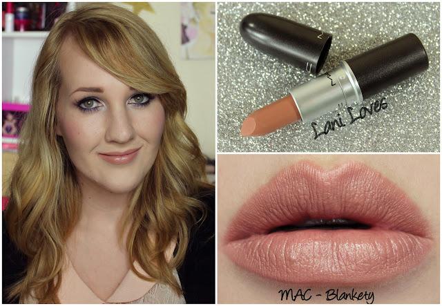 MAC Blankety Lipstick swatch