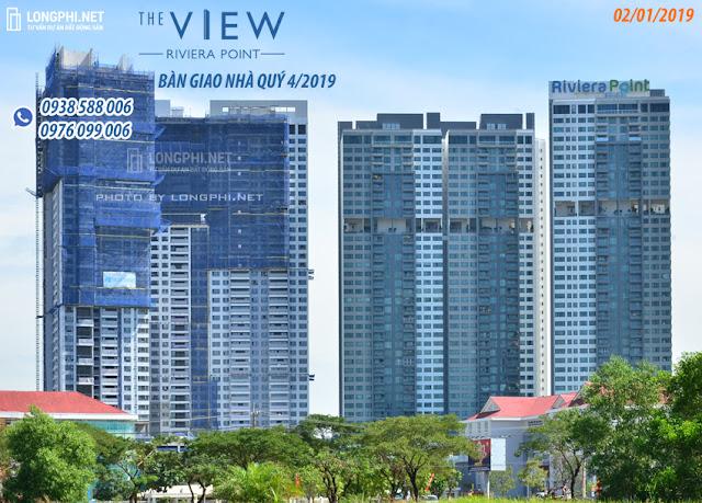 Căn hộ The View Riviera Point quận 7 của Keppel Land sẽ bàn giao nhà vào cuối năm 2019.