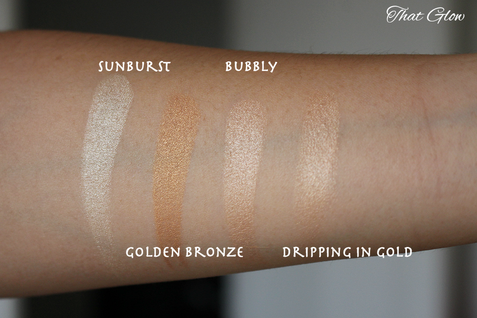 Anastasia Glow Kit That Glow Review Swatch