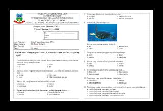 Soal UAS IPA KTSP Kelas 3 Semester 1