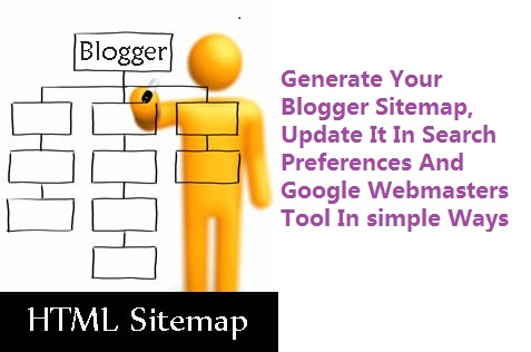 how to generate sitemap in blogger