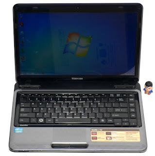 Laptop Toshiba L745 Core i3 Second di Malang