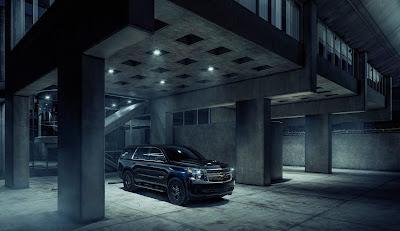 2018 Chevy Tahoe Custom Midnight Edition Available
