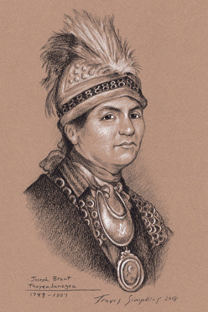 Joseph Brant. Thayendanegea. Mohawk Chief and Freemason. by Travis Simpkins
