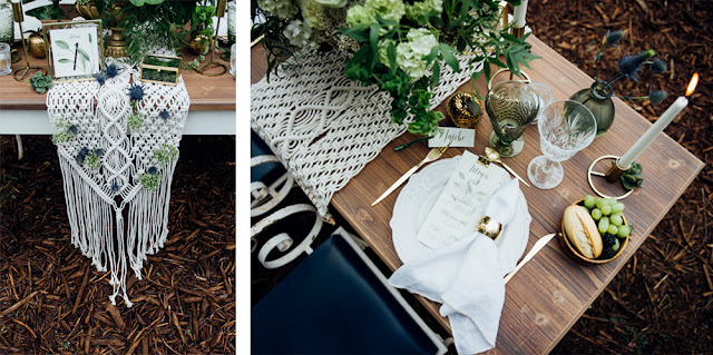blog mi boda - majestic greenery - decoracion boda macrame