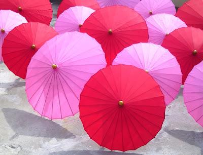 Payung hias polos