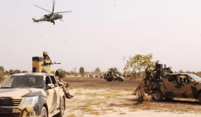 boko haram terrorists fled sambisa forest