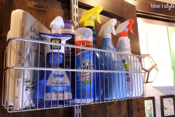 Laundry Room Door Organizing Baskets