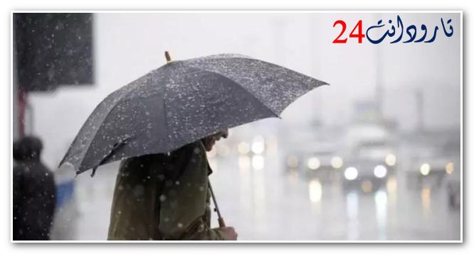انخفاض درجات الحرارة وتساقطات مطرية ابتداءا من الخميس لغاية الأحد