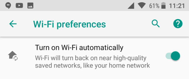Android O Feature Spotlight: Automatic Wifi For Nearby Trusted Networks