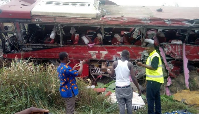 10 feared dead in gory accident on Kumasi highway