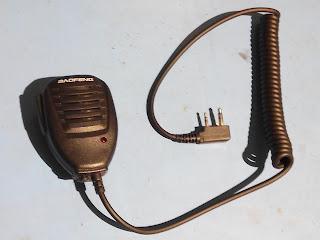 Baofeng speaker microphone