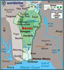 Peta Negara Benin