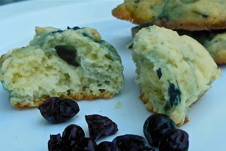 Cookies with Blueberries