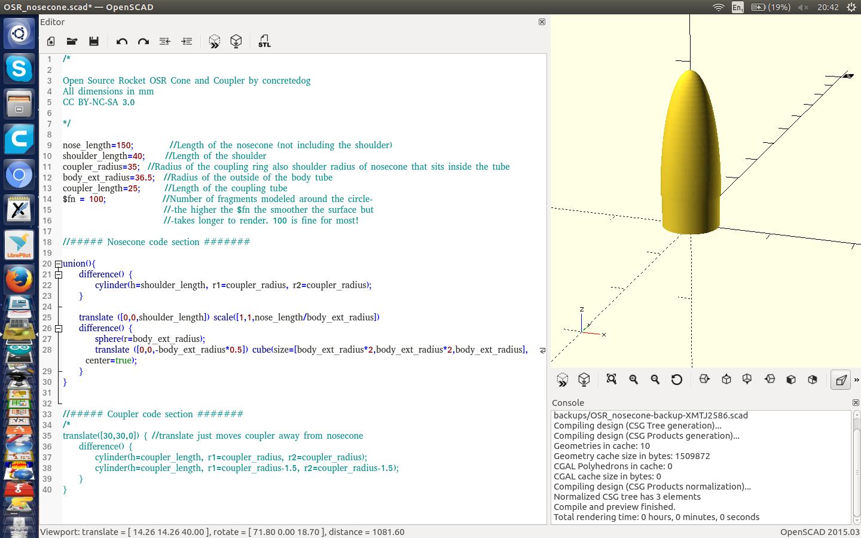 Concretedog: OpenRocket 3d print design tip!