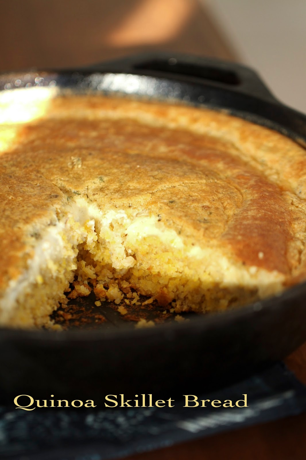 Quinoa Skillet Bread - IHCC Face-the-Day