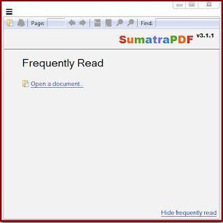 Download Sumatra PDF Portable Version 3.1.1