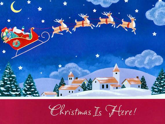 download besplatne Božićne pozadine za desktop 1600x1200 čestitke blagdani Merry Christmas Djed Mraz