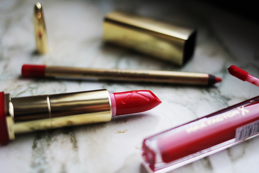 rote lippen schminken max factor lip liner produkte