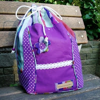 Upcycling Rucksack Beach Bag