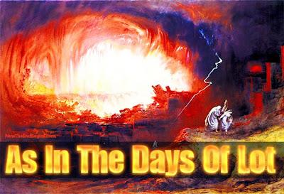 Αποτέλεσμα εικόνας για THE DAYS OF THE END AS THE DAYS OF LOT