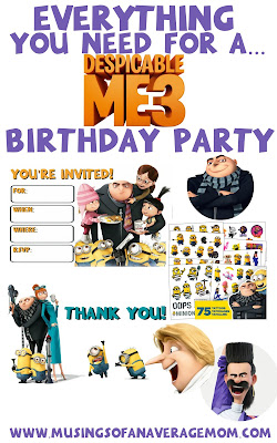 Despicable Me 3 Party