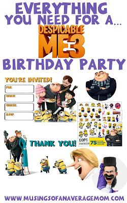 Despicable Me 3 Party