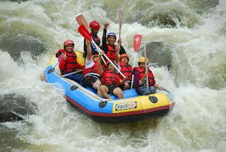 Arung Jeram - Rafting Berwisata ke Banjarnegara