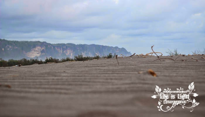 gumuk pasir yang eksotis