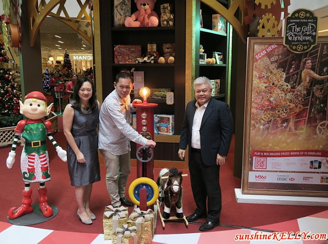 Dreams are Brought To Life at Santa's Toy Factory at Sunway Putra Mall