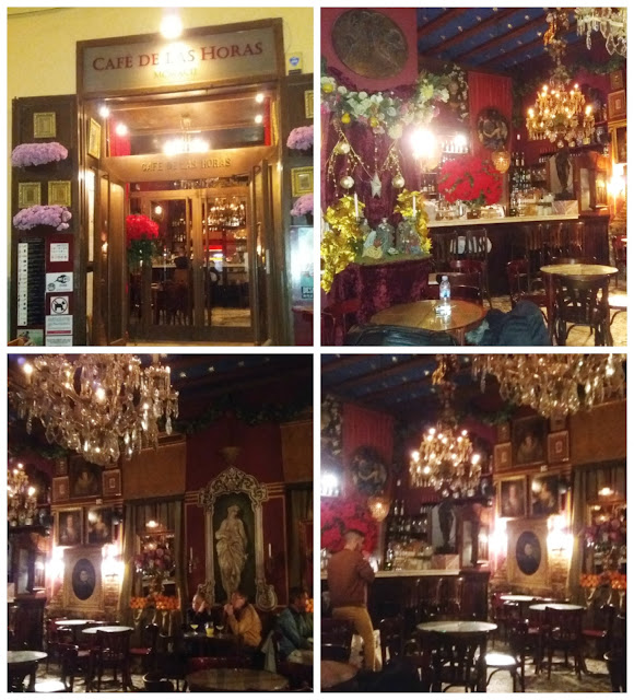 Onde comer/beber em Valência - Cafe de las Horas - Agua de Valencia