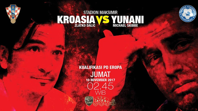 Prediksi Bola : Croatia Vs Greece , Jumat 10 November 2017 Pukul 02.45 WIB