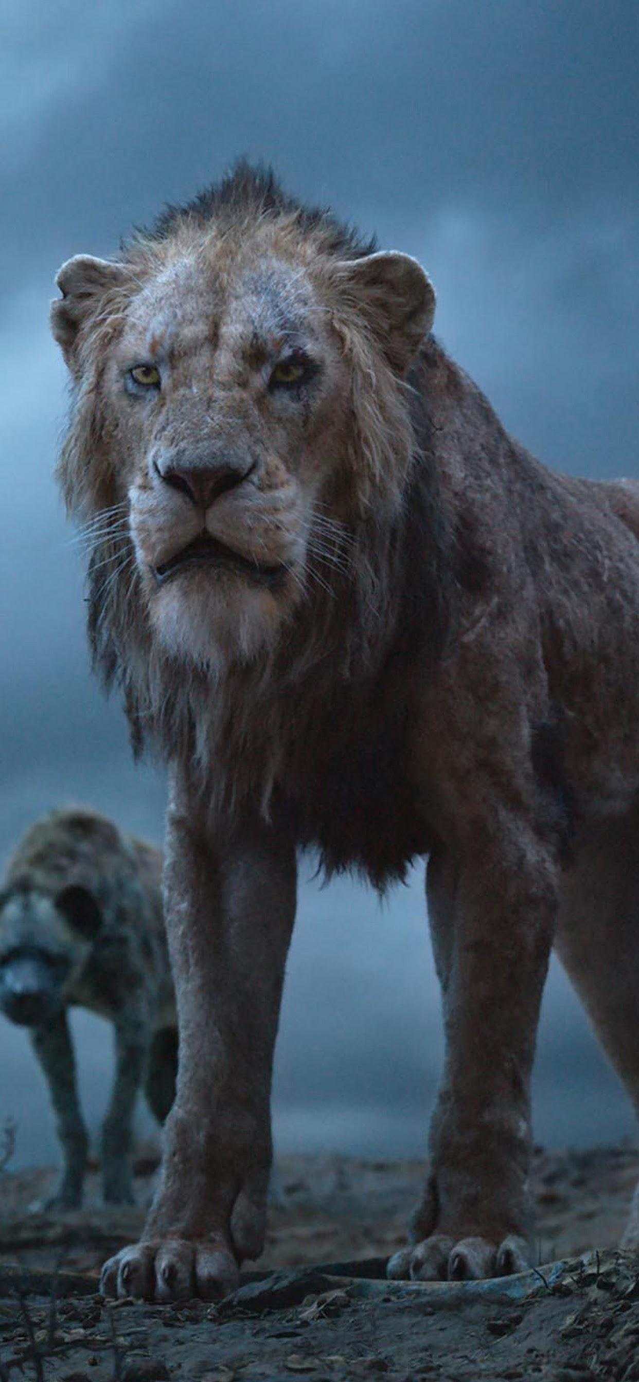 The Lion King 2019 Scar Hyenas 4k Wallpaper 3