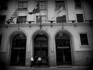 Fachada da Bolsa de Valores de São Paulo