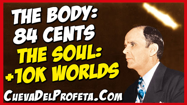 The body is worth 84 cents The Soul is worth ten thousand worlds - William Marrion Branham Quotes