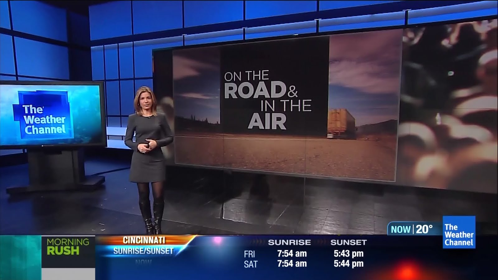 the appreciation of booted news women blog   weather channel