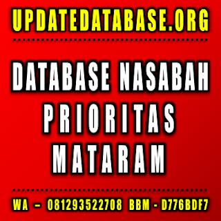 Jual Database Nasabah Prioritas Mataram
