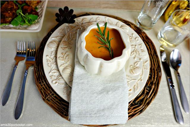 Bisque de Langosta como Primer Plato de nuestra Cena de Acción de Gracias