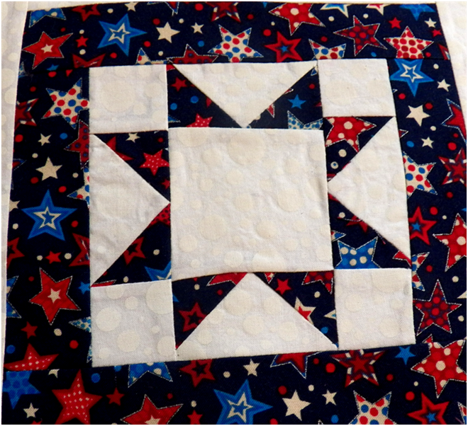 Art Threads: Friday Inspiration - North/Sawtooth Star Quilts