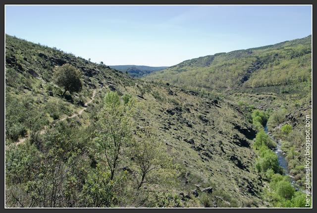 Ruta la Roblelacasa-Cascada de los Aljibes