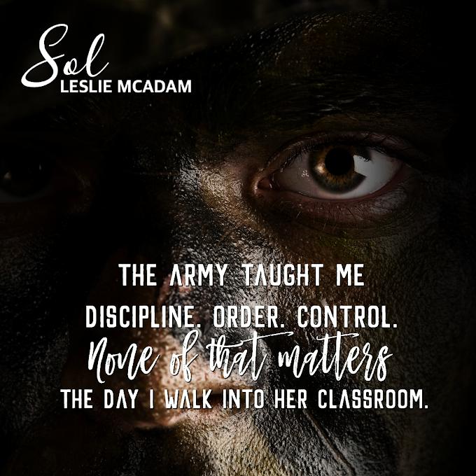 TEASER SHARE: Sol by Leslie McAdam