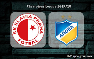 LIVE: Slavia 0-0 APOEL (0-2agg) #UCL