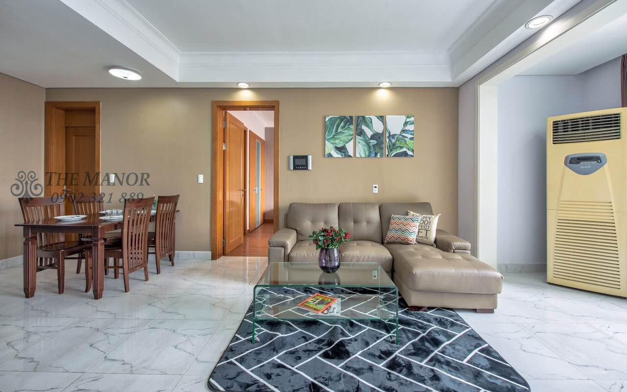 Cho thuê căn hộ chung cư The Manor 2PN - không gian phòng khách