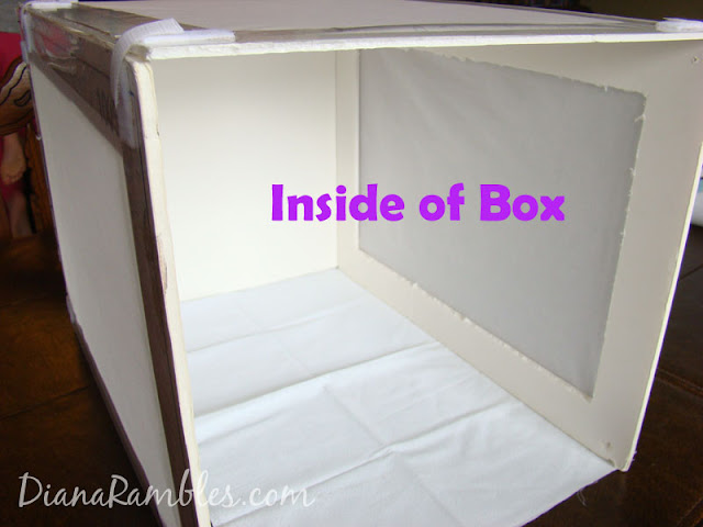 DIY inexensive light box