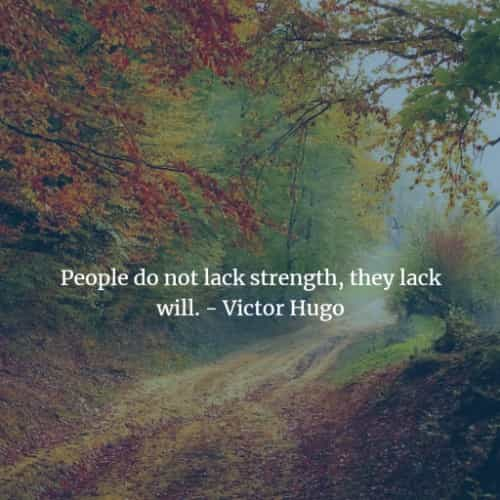 Famous quotes and sayings by Victor Hugo