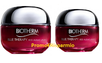Logo Diventa una delle 100 tester crema viso Biotherm Blue Therapy Red Algae Uplift