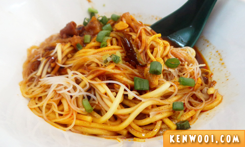 xin quan fang curry noodles