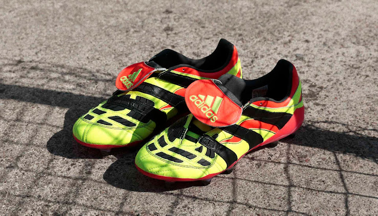 Electricity' Adidas Predator Accelerator Remake Boots Released ...