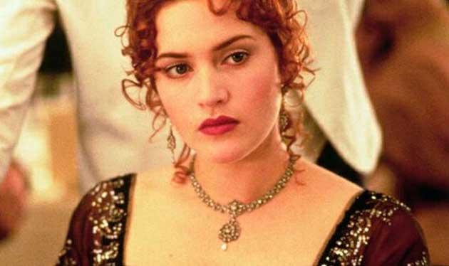 Acessórios da Rose em Titanic
