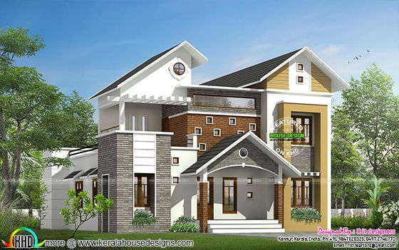 Modern mix home 2777 sq-ft